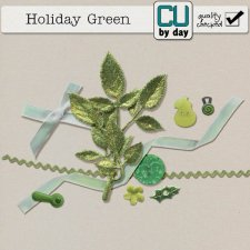 Holiday Green - CUbyDay EXCLUSIVE
