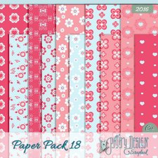 Paper Pack 18 Pathy design
