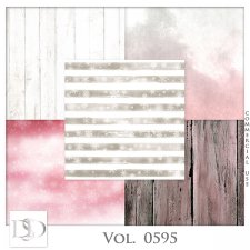 Vol. 0595 Winter Papers by D's Design