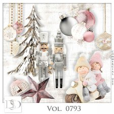 Vol. 0793 Winter Christmas Mix by D's Design