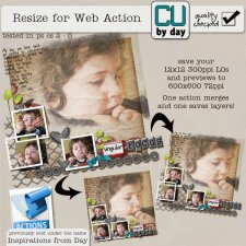 Resize 4 Web Action - CUbyDay EXCLUSIVE