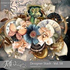 Designer Stash Vol 58 - CU by Feli Designs