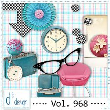 Vol. 968 Fifties Mix by Doudou Design
