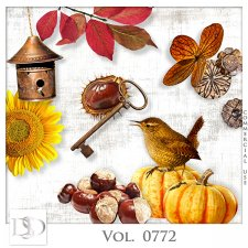 Vol. 0772 Autumn Nature Mix by D's Design