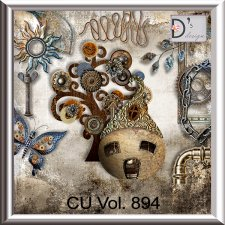 Vol. 894 Steampunk Mix by Doudou Design