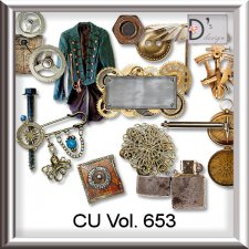 Vol. 653 Steampunk Mix by Doudou Design