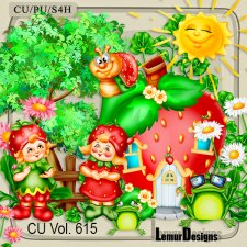 CU Vol 615 Strawberry Mix