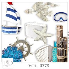 Vol. 0378 Sea Mix by D's Design