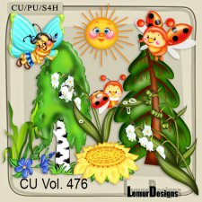 CU Vol 476 Summer Forest by Lemur Designs