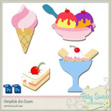 Template Ice Cream by Pathy Design