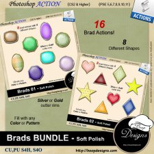 Brads BUNDLE - Soft Polish ACTION by Boop Designs