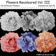 Flowers Recoloured Vol.III by Cida Merola