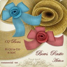 Action - Bows Rustic by Rose.li
