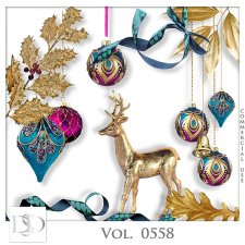 Vol. 0558 Christmas Mix by D's Design