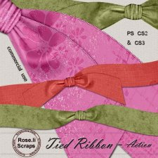 Action - Tied Ribbon I by Rose.li