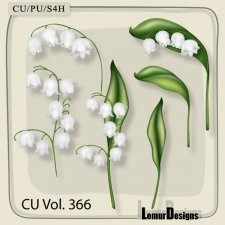 CU Vol 366 Flowers by Lemur Designs
