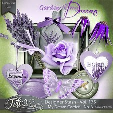 Designer Stash Vol 175 - My Dream Garden No. 3 - by Feli Designs