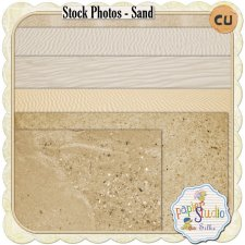 Stock Photos - Sand EXCLUSIVE by PapierStudio Silke