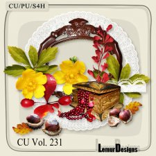CU Vol 231 Autumn Flowers Mix by Lemur Designs