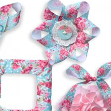 Vol. 0165 Shabby Chic Ribbons Mix by Doudou Design