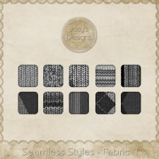 Seamless Styles - Fabric 1 by Josy