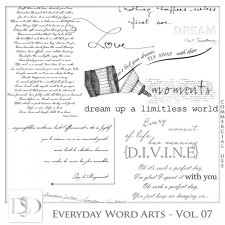 Everyday Word Arts Vol 07 by D's Design