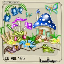 CU Vol 465 Summer Forest by Lemur Designs