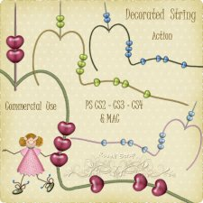 Action - Decorated String by Rose.li