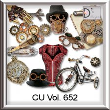 Vol. 652 Steampunk Mix by Doudou Design