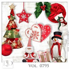 Vol. 0795 Winter Christmas Mix by D's Design