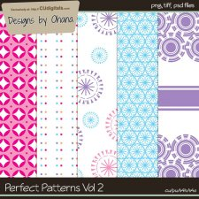 Perfect Patterns Vol 2 - EXCLUSIVE Designs by Ohana