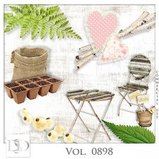 Vol. 0898 Spring Nature Mix by D's Design