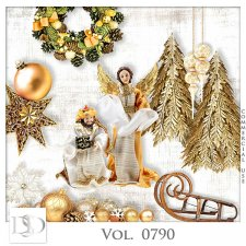 Vol. 0790 Christmas Nativity Mix by D's Design