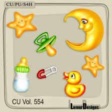 CU Vol 554 Baby Stuff by Lemur Designs