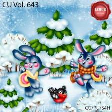 CU Vol 643 Winter by Lemur Designs