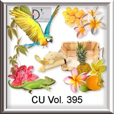 Vol. 395 Exotic Tropical Mix by Doudou Design