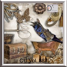 Vol. 887 Steampunk Mix by Doudou Design