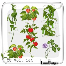 CU Vol 144 Plants Pack 1 by Lemur Designs