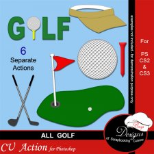 Golf ACTION by Boop Designs
