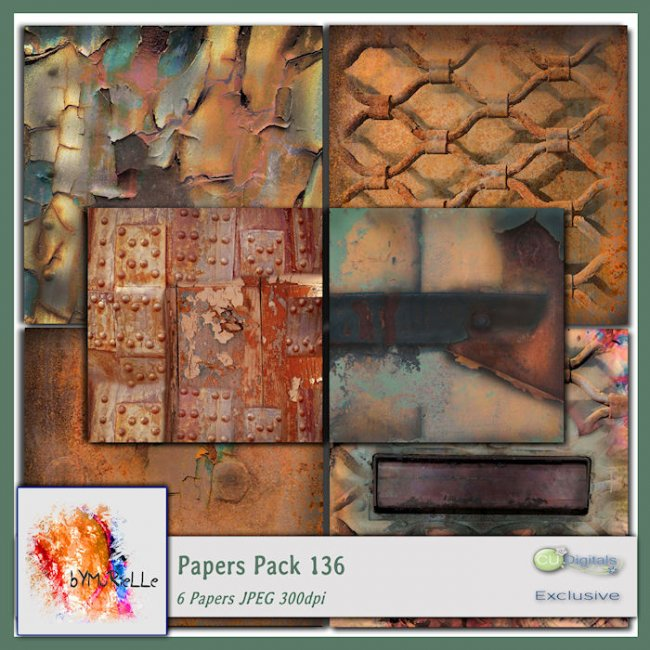 Papers Pack 136 EXCLUSIVE bymurielle