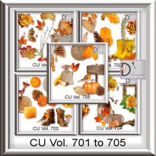 Vol. 701 to 705 Autumn Mix by Doudou Design