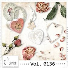 Vol. 0136 Vintage Love Mix by Doudou Design