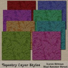 Tapestry Layer Styles by Karen Stimson