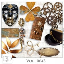 Vol. 0643 Steampunk Mix by D's Design