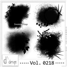 Vol. 0218 Clipping Masks by Doudou Design