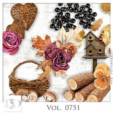 Vol. 0751 Autumn Nature Mix by D's Design