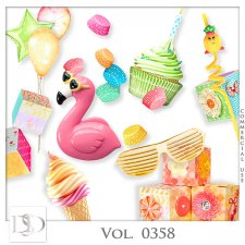 Vol. 0357 to 0360 Party Mix by D's Design