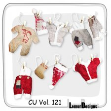 CU Vol 121 Clothing by Lemur Designs