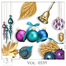 Vol. 0559 Christmas Mix by D's Design