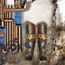 Vol. 891 Steampunk Mix by Doudou Design